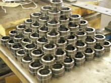 Clock springs can be made in bulk