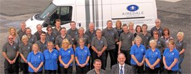 The team at Airedale Springs - spring manufacturers, suppliers and makers