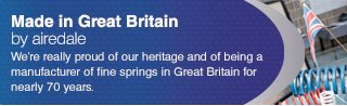 Airedale Springs - proudly British spring suppliers