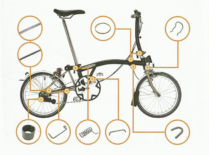The Brompton Bicycle - Airedale Springs