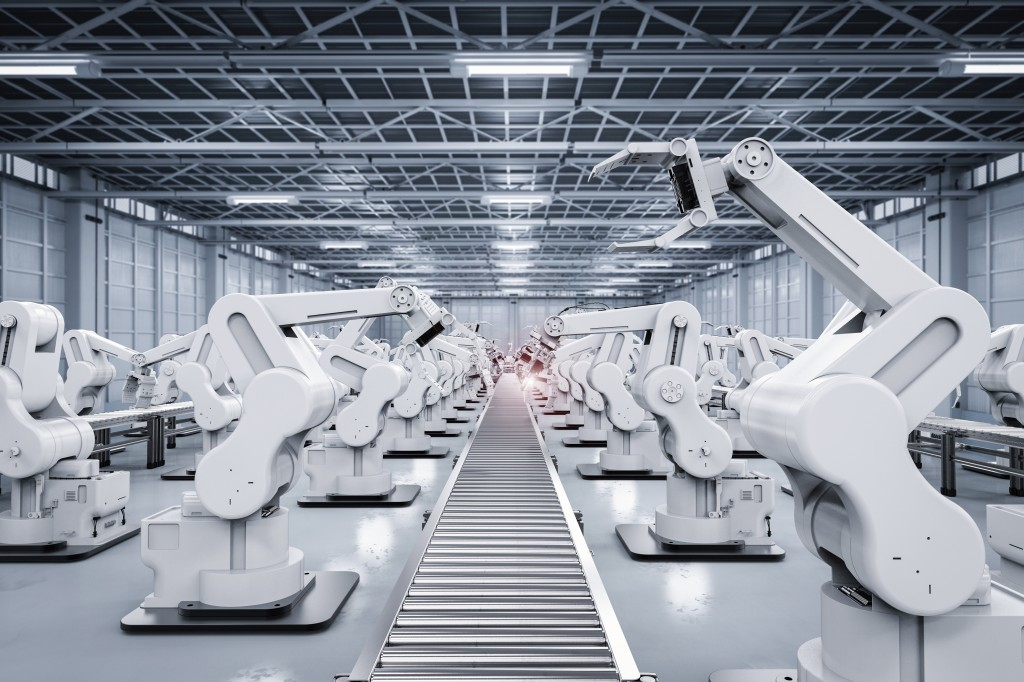 automation in manufacturing factory