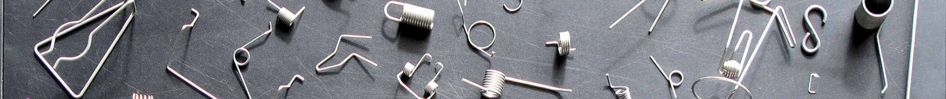a selection of custom springs in a banner image