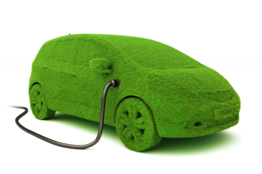 Eco Green Electric Car