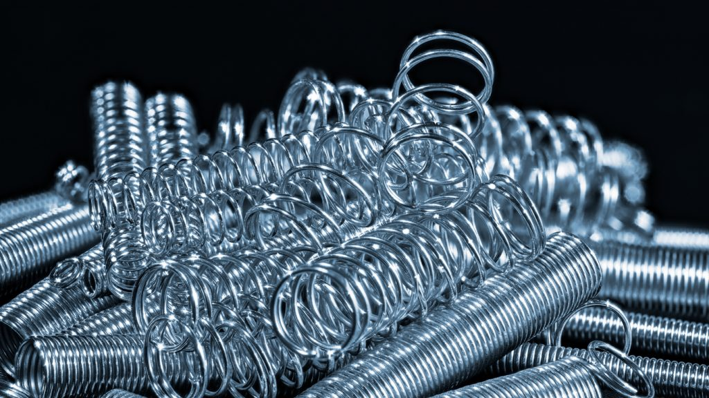 stainless steel compression and extension coil springs
