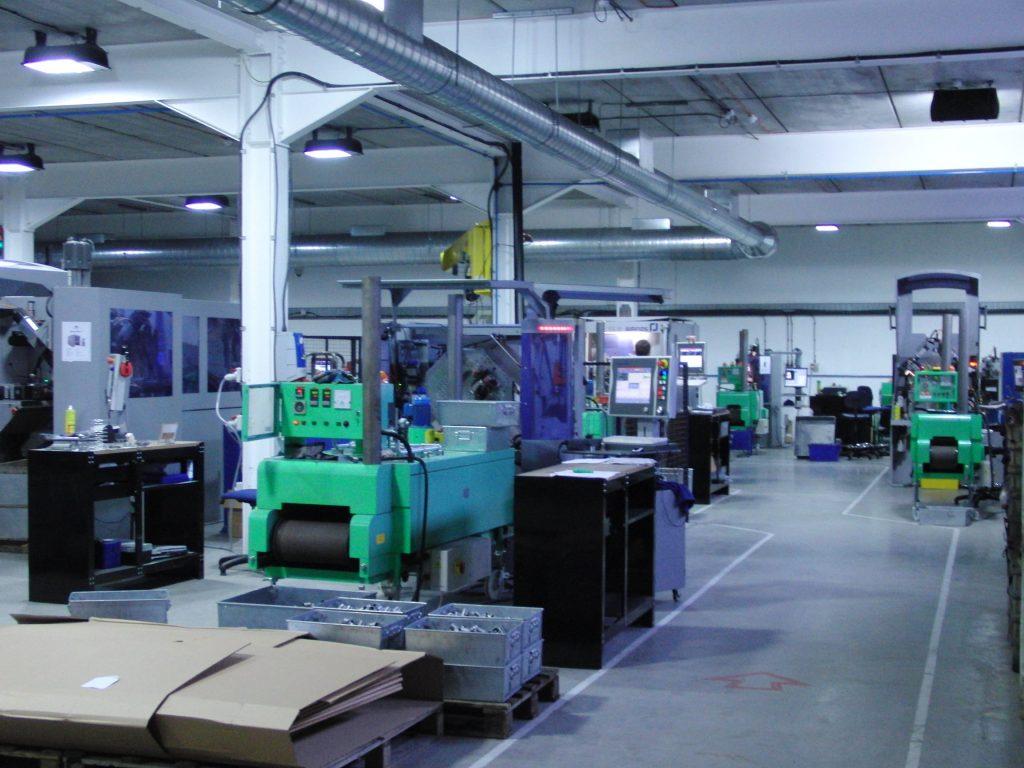 airedale springs factory floor