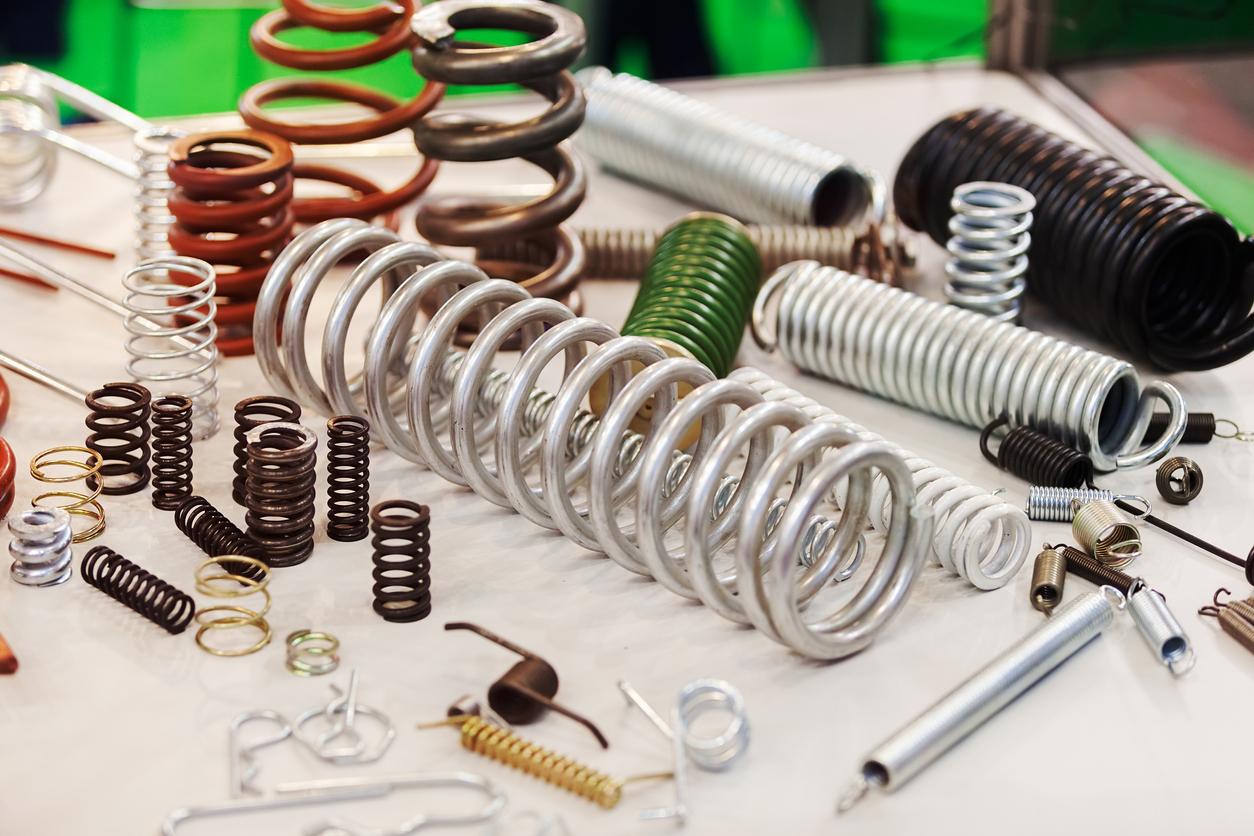 Various metal springs